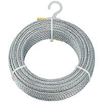 TRUSCO(トラスコ) メッキ付ワイヤロープ Φ5mm×20m CWM-5S20