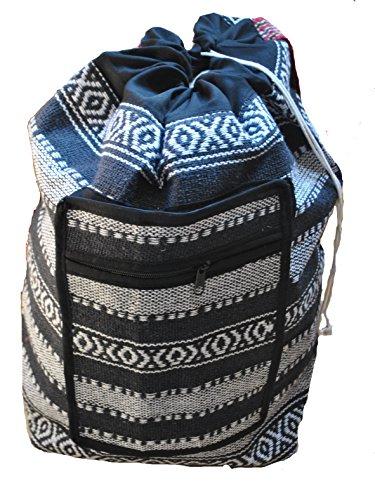 Terrapin Trading Fair Trade Woven Canvas Duffle Bag/Holdall [Habillement]