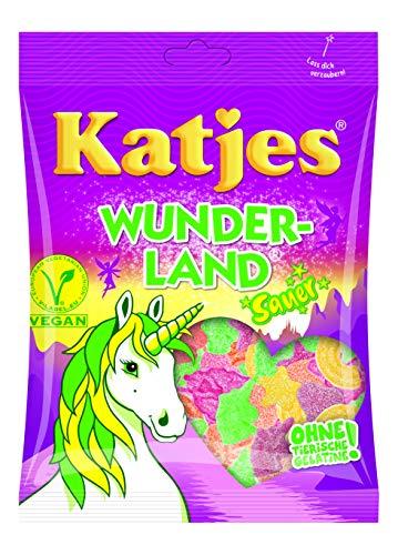 Katjes Wunderland – Saure Fruchtgummi Süßigkeiten in magischen Formen und Farben – Einhorn, Regenbogen, Sterne und mehr - Leckere Weingummis  (20 x 200 g)