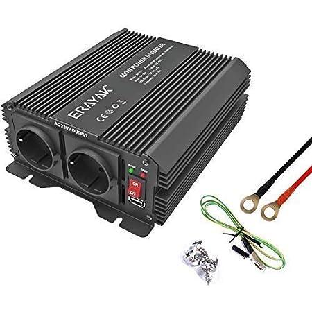 ERAYAK 12v 220v 230v 600W/1200W Power Inverter di potenza