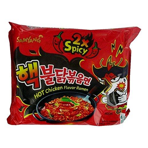 Samyang Hot Chicken Ramen 2X Spicy Noodles, 140 g