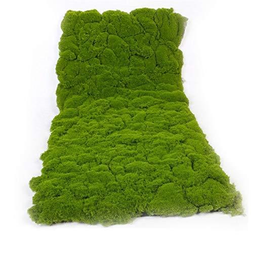 1 m * 0,5 m estera pared de hierba planta verde musgo del césped césped de simulación falsa escaparate escena tienda de decoración de la pared de césped artificial musgo Para uso en interiores y exter