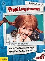 Pippi Langstrumpf - 4 DVDs Box-Set