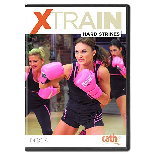 Cathe Friedrich XTrain Series Hard Strikes Kickboxing DVD Workout