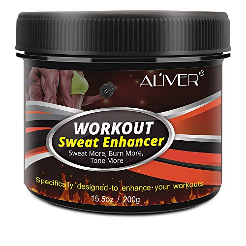 Sweat Workout Enhancer Gel, Hot Cream Cellulite and Fat Burner for Women and Men, Weight Loss Slimming for Abdomen Leg Body Waist Shaping, Deep Tissue Massage & Muscle Relaxer (15.5 oz)