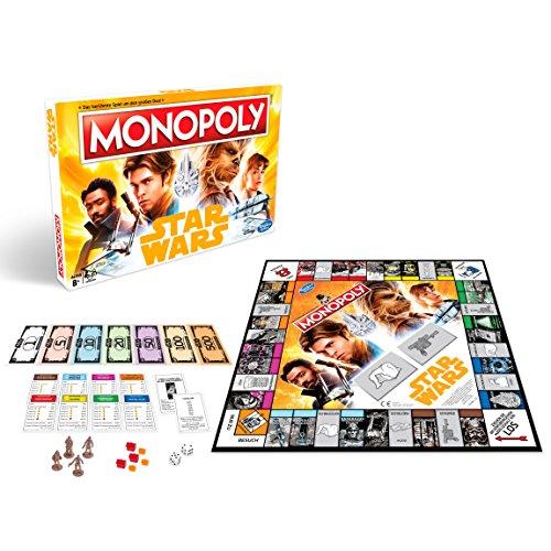 Hasbro Gaming E1702100 Monopoly Solo-A Star Wars Story, Juego Familiar
