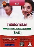 Telefonistas del Servicio Andaluz de Salud. Test del Temario específico