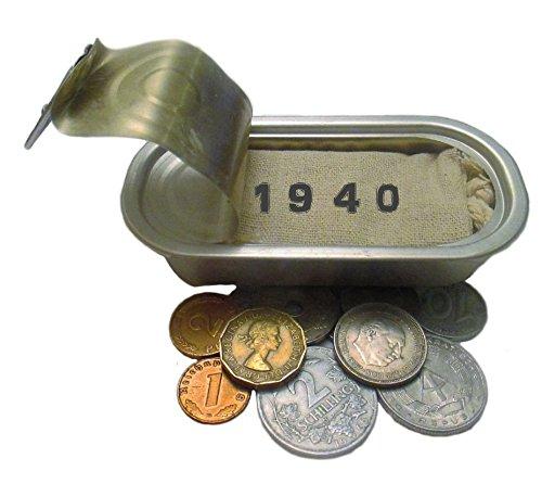 WallaBundu Geschenkidee zum 80. Geburtstag – 10 schöne Münzen, auch Drittes Reich