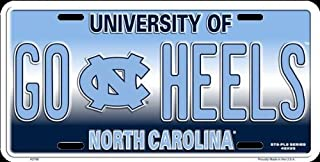 HangTime GO HEELS UNC Novelty License Plate