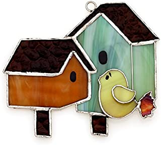Switchables Double Birdhouse, Glass Cover