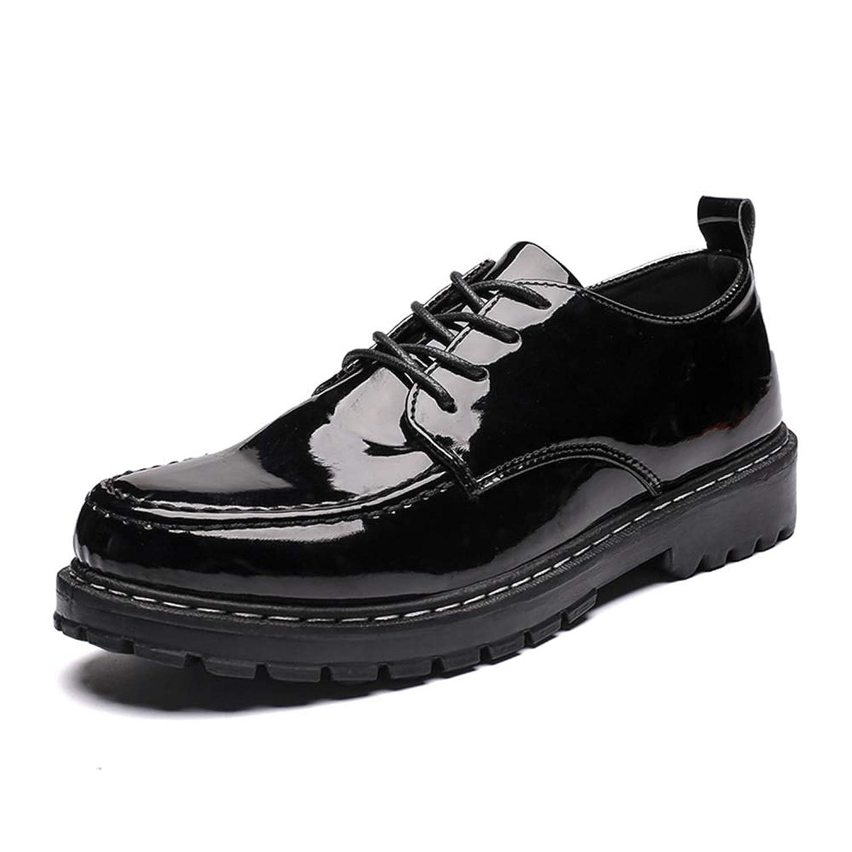 [BTXXY] メンズ シューズ レザー 紳士靴 通気性 滑り止め 革靴 オシャレ