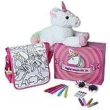 Magical Unicorn Gift Set with 15' Plush...