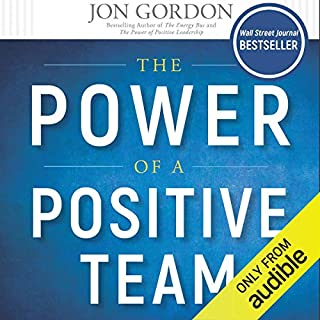 The Power of a Positive Team audiobook cover art