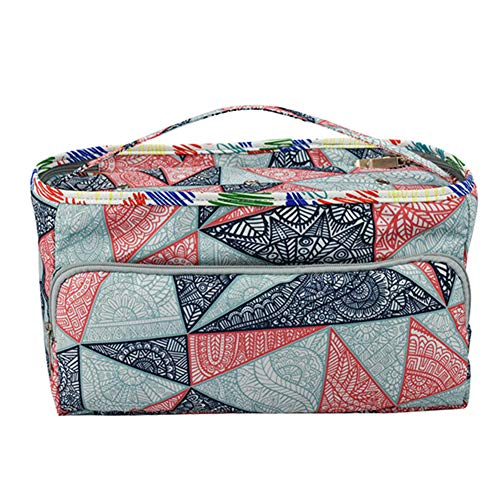 Fxhan Kniting Crochet opbergtas hoes Hook Thread Pouch Tote Printing Portable Handtas