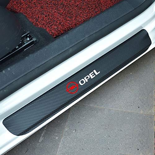 4 Stück Autoschutz Auto Schwellenaufkleber geeignet