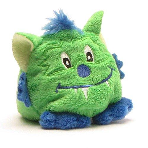 Duckshop Schmoozies Monster grün/blau I Displayreiniger I Mikrofasertuch I Bildschirmreiniger