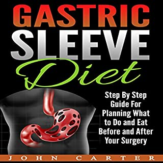 Gastric Sleeve Diet audiobook cover art