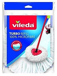 Vileda 2431 Producto de Limpieza Multiusos para el Hogar, Microfibra, Color Blanco