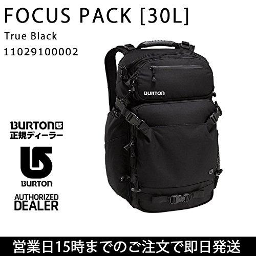 (バートン) BURTON バックパック FOCUS PACK [30L] True Black 11029100002 btn-1715