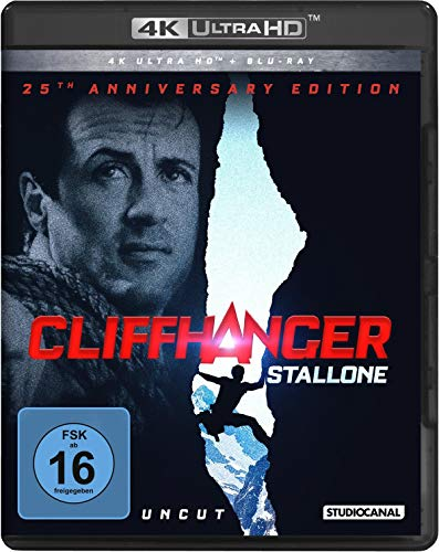 Cliffhanger / 25th Anniversary Edition / Uncut / 4K Ultra HD (+ Blu-ray 2D)