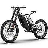 Art Jian Adultos eléctrico Bicicleta de montaña, 48V Li-batería eléctrica Off-Road Bicicleta/Moto Doble Freno de Disco de Bicicleta eléctrica