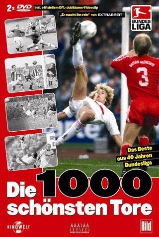 40 Jahre Bundesliga - Die 1000 schönsten Tore [2 DVDs]
