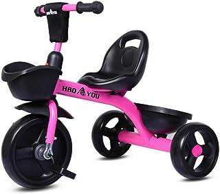 Kinderen driewieler scooter, Kids 3 wiel pedaal Trike, Kids Trike voor jongens meisjes, Baby Balance Bike met voor- en ach...