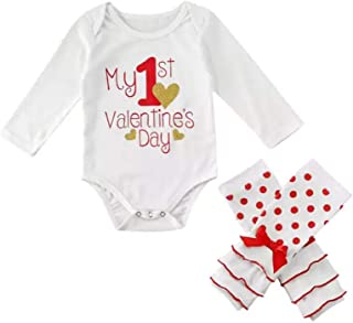 Yajiemen Unisex Baby Christmas Outfits Clothes Jumpsuit Bodysuit 2Pcs Hooded+Pants Red