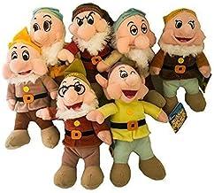 Conjunto Completo 7 Los Siete enanitos 35cm Original Disney - Nombres Italianos Blancanieves