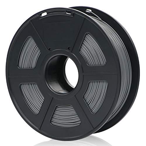 ANYCUBIC PLA 3D Drucker Filament, Toleranz beim Durchmesser liegt bei +/- 0,02mm, 1kg Spule, 1.75mm für 3D-Drucker und 3D-Stifte,Verschiedene Farben (Grau)