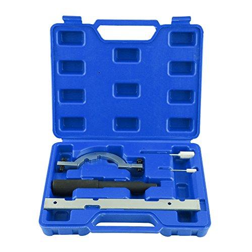 Cocoarm Auto Motor Timing KurbelwellenverriegelungEinstellung Tool Kit, Steuerkette wechseln Werkzeug, Nockenwellen Lineal Arretierung Einstellwerkzeug f¨¹r OPEL VAUXHALL 1.0 1.2 1.4