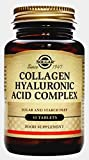 Solgar Nuevo Complejo de ácido hialurónico Colágeno - 30 Tabletas - Piel estado y recuperación - UE-Compatible
