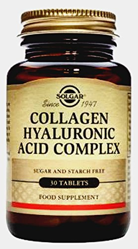 Solgar Hyaluronic Acid Collagen Complex–30Tablets–Skin Recovery–UE-compatible