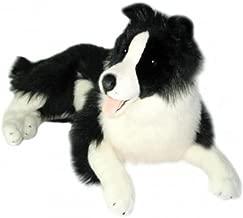 Bocchetta Plush Toys Oscar Border Collie, Sheepdog, Stuffed Animal, Extra Large, Size – 64cm/25″