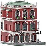 Doges Palace Venice Ladrillos Modelo compatible con Lego, MOC DIY Creative Construction Collection Arquitectura Construcción Juguete de Construcción MOC-59639 (4993 piezas)