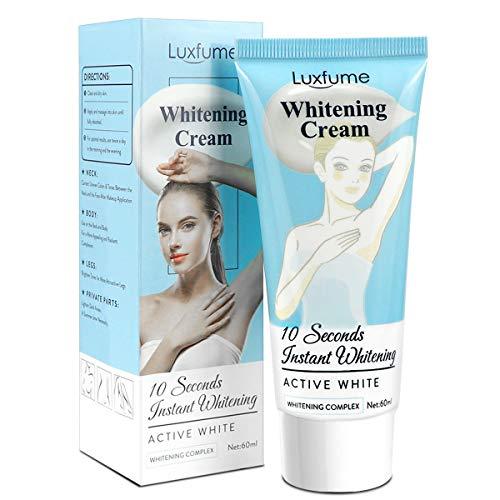 PHEGOFYA Whitening Complex Body Cream Underarm Cream, Concealer Body and Sensitive Part Brightening Cream with Collagen, Dark Spot Corrector and Remover for Knees, Elbows, Sensitive Part