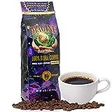 Imagine Kona UltraViolet Blu Light Infused Biodynamic Special Edition | Organic Whole Coffee Beans | Made From Premium Hawaiin Kona Beans | Top Grade Air Roasted | Medium Roast - 16 ounce