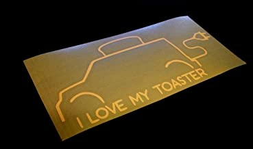 I Love My Toaster Sticker Decal 8