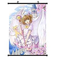 カードキャプターさくらアニメマンガウォールスクロールリールポスター家の装飾ファンがアートギフトを集める16x24inch / 40x60cm