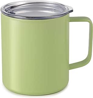 Maars Drinkware 79716-1PK Townie Stainless Steel Insulated Coffee Mug Double Wall Vacuum Sealed Tumbler-14 oz, 1 Pack, Matcha Green