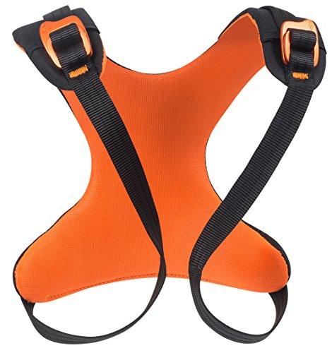 Beal Rise Up Torso für Klettergurt Unisex Kinder, Orange/Schwarz