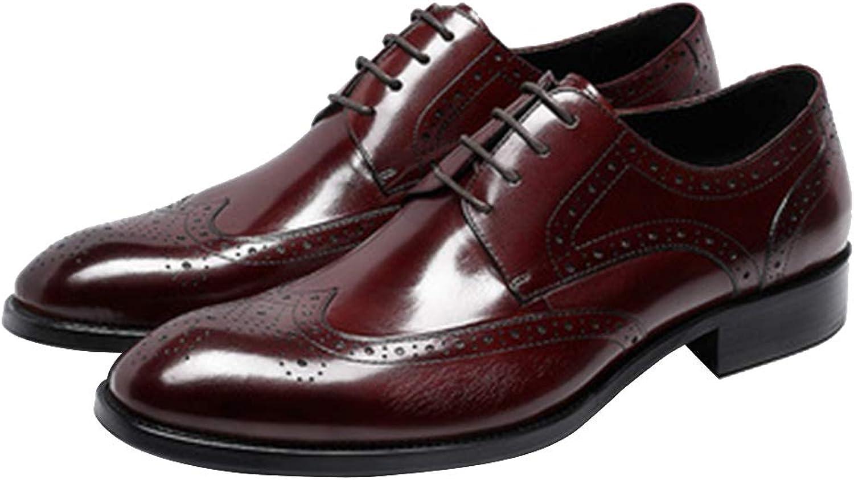 Mans skor Autumn ny handgjorda Dress skor skor skor Brogues Mans skor Classic Style Formal skor Lace up  märken online billig försäljning