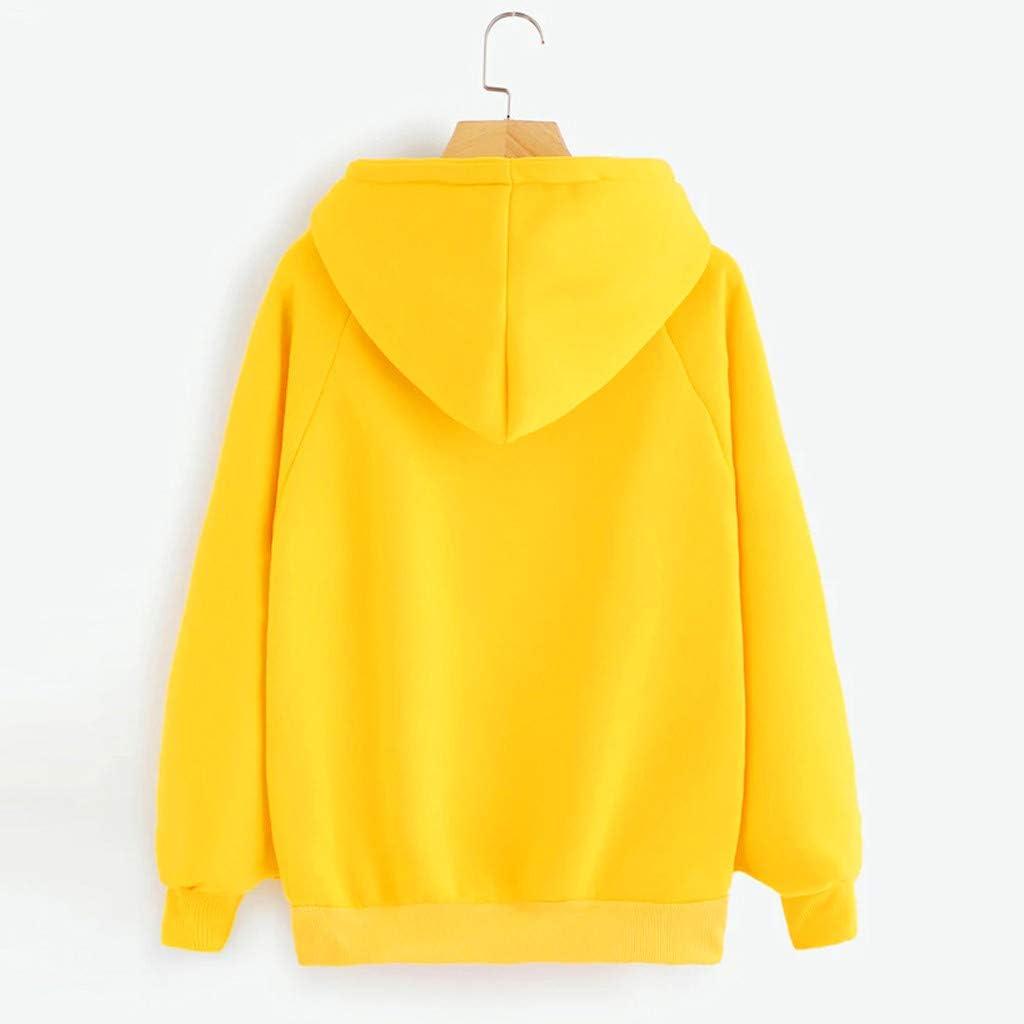 UOCUFY Womens Sweatshirts, Womens Casual Long Sleeve Loose Tie Dye Graphic Printed Pullover Hoodies Drawstring Tops