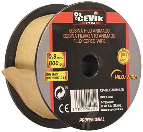 Bobina de alambre de soldadura 9N 0.9 mm 800 g