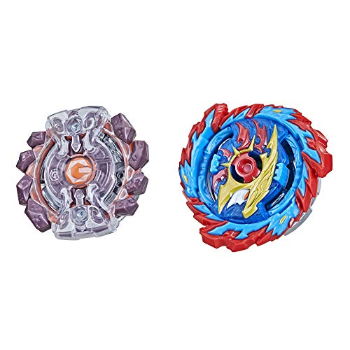 BEYBLADE Burst Surge Speedstorm Mirage Helios H6 and Gaianon G6 Spinning Top Dual Pack -- 2 Battling Game Top Toy for Kids Ages 8 and Up
