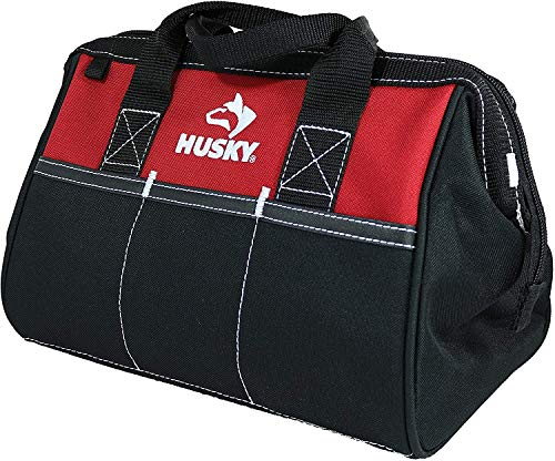 Husky 12 Inch Contractor's Multi-Purpose Water-Resistant Tool Bag