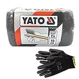 YATO - Estropajo abrasivo reutilizable para tubos de cobre, madera, ollas, acero,...