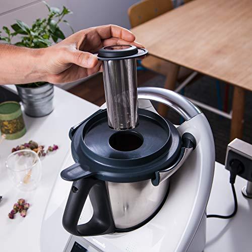 Edelstahl Teesieb/Teefilter passend für Thermomix TM6 / TM5 / TM Friend - Weltneuheit! Besser als ein Teeautomat!