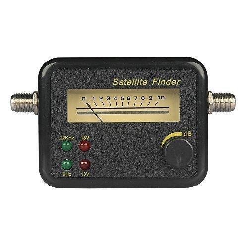 CST SF 2400 Arch Culverts Satfinder, Messbereich 950-2150 MHz, Schwarz