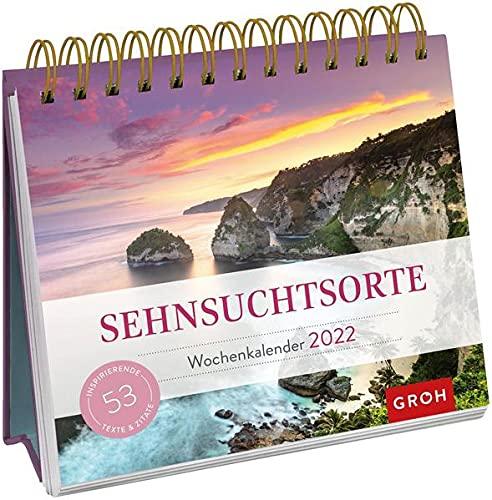 Sehnsuchtsorte 2022: Aufstell-Kalender mit Wochenkalendarium